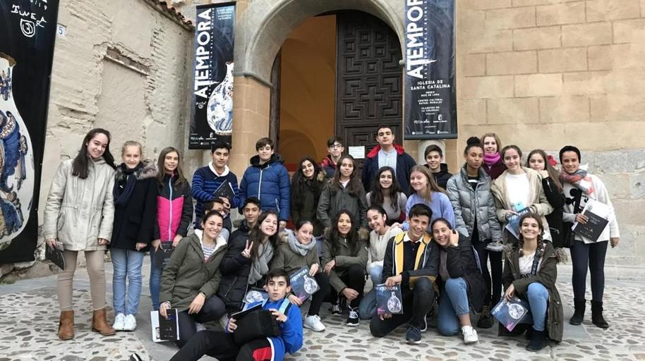 Alumnos de un IES de Talavera promocionan «aTempora» en Europa