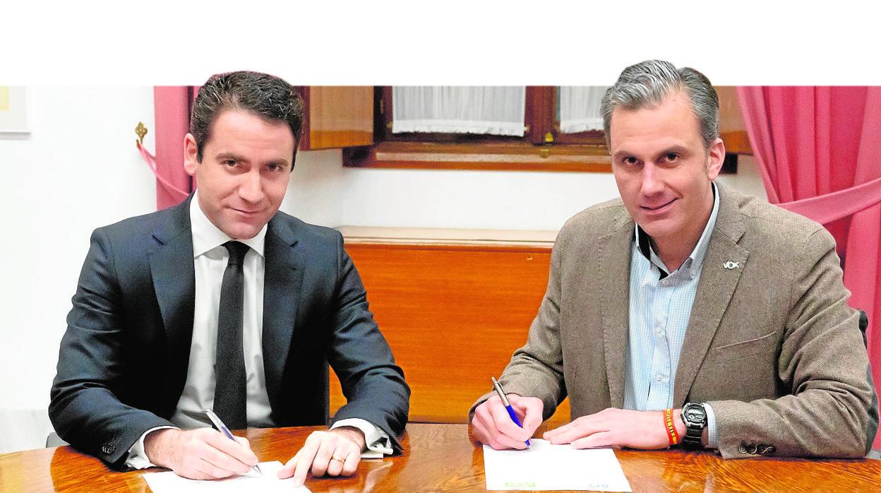 PP y Vox, los entresijos de un acuerdo «por España»