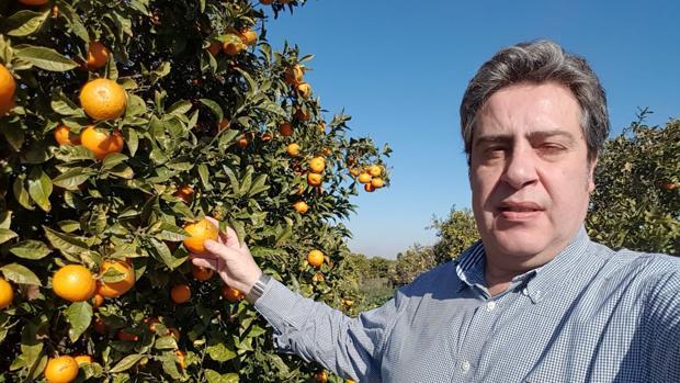 Imagen del presidente de Vox en la provincia de Valencia, José María Llanos