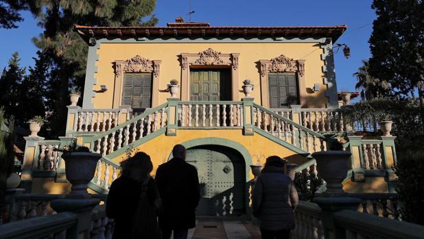 Villa en la que residió Antonio Machado durante su exilio