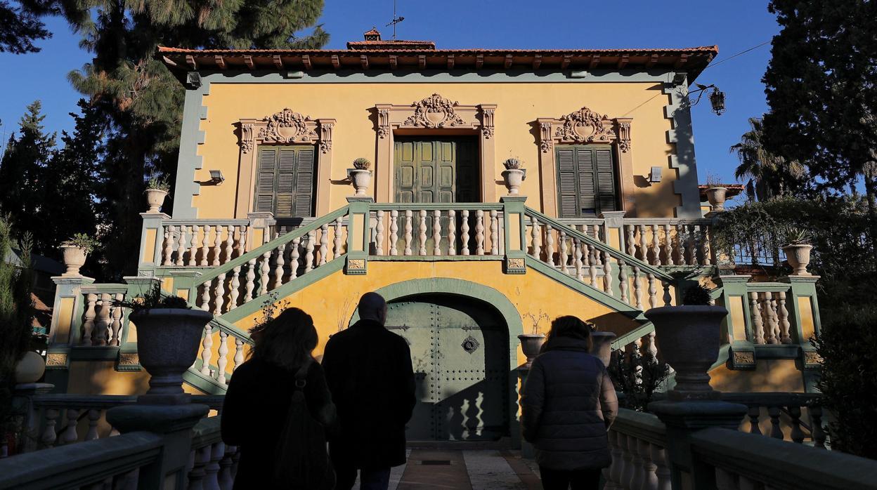 Villa Amparo, el «oasis» donde Antonio Machado fue feliz en el exilio