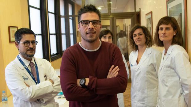 Científicos del Hospital Vall d'Hebron de Barcelona autores del estudio