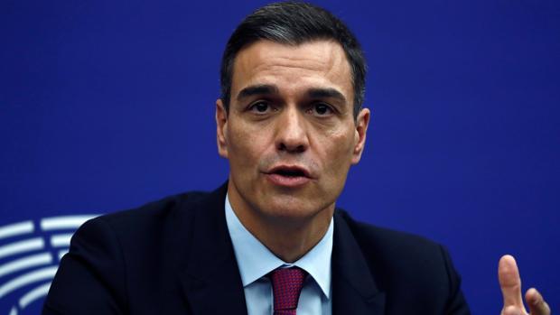 Sánchez reafirma en Estrasburgo su confianza en tener los Presupuestos aprobados en abril