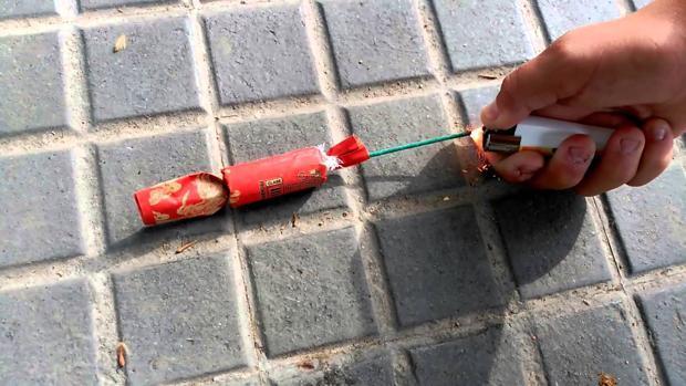 Un chico de 13 años herido grave por manipular material pirotécnico en Bargas