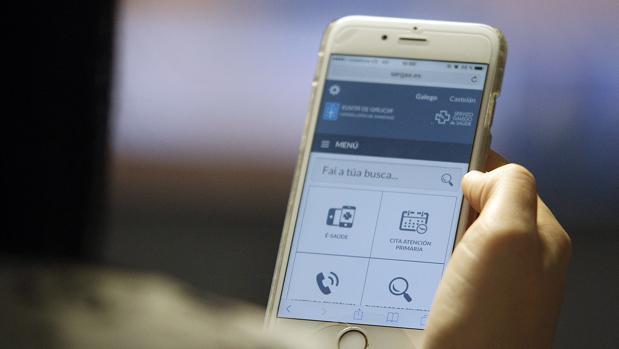 Aplicación móvil del Servicio Galego de Saúde