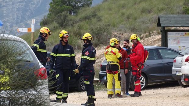 Imagen de archivo de un equipo de Bomberos de Alicante