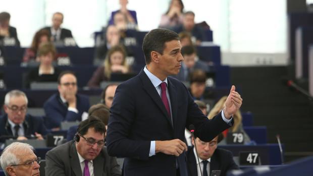 Intervención del Presidente del Gobierno, Pedro Sanchez, ayer en el Parlamento Europeo