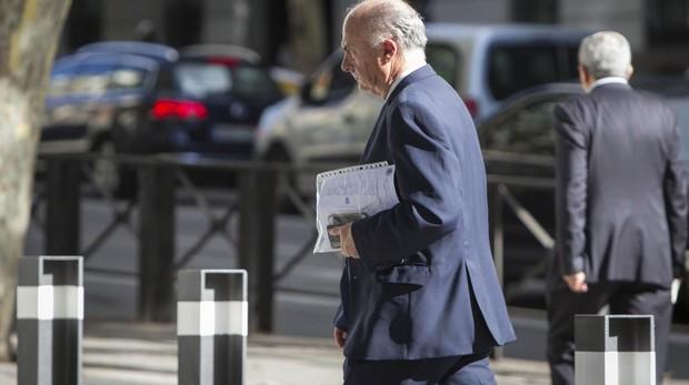 Manuel García Castellón llega a la Audiencia Nacional en una imagen de archivo