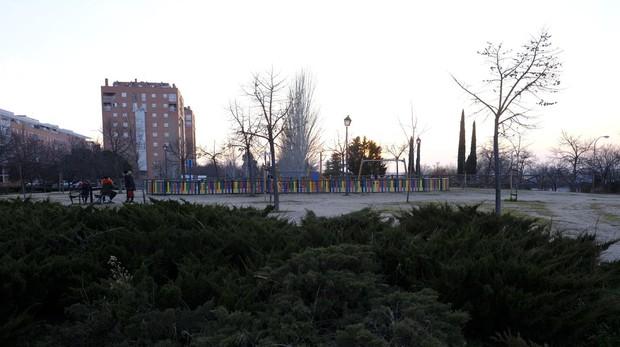 Parque de la Viña, en Puente de Vallecas