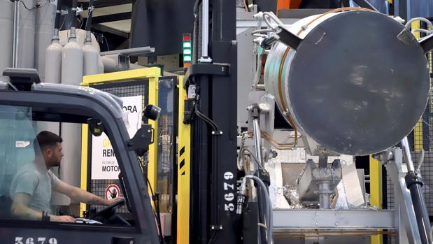 Instalaciones de inyección de aluminio de Renault en Valladolid