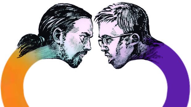 Una batalla por el alma de Podemos