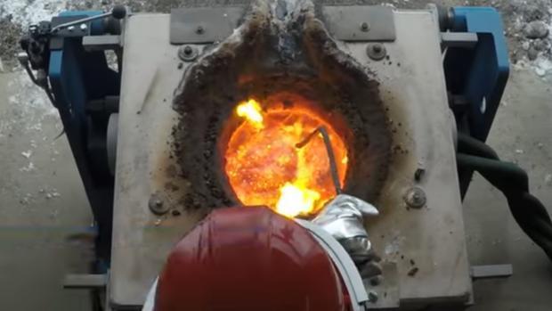 Elaboración de lava artificial