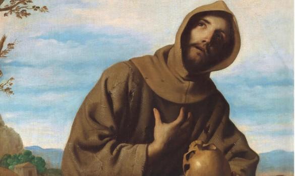 «San Francisco en oración», obra de Francisco de Zurbarán