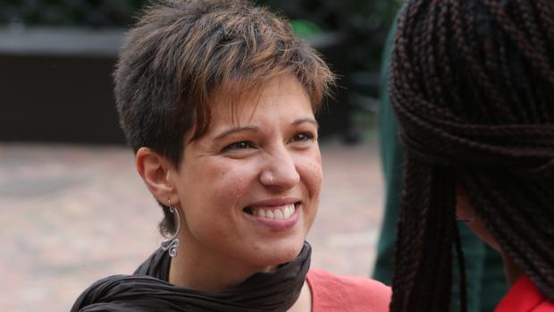 Beatriz Talegón, tras un acto en Madrid