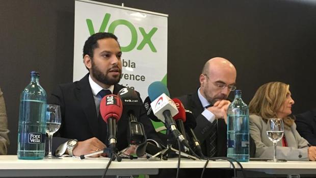 Dirigentes de Vox en Cataluña