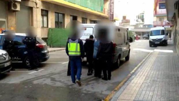 Imagen de las detenciones
