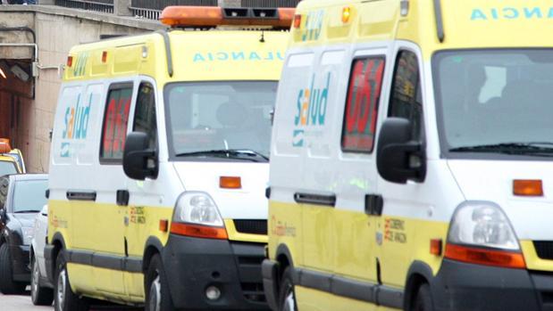 Ambulancias del Servicio Aragonés de Salud