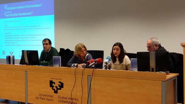 Antonio Rivera, Consuelo Ordóñez, María Jiménez y Javier Gómez