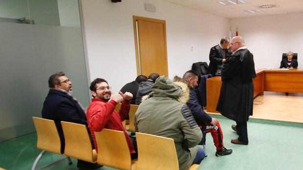 Los implicados, en el juicio en la Audiencia Provincial de Alicante