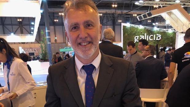 Ángel Víctor Torres en Fitur 2019