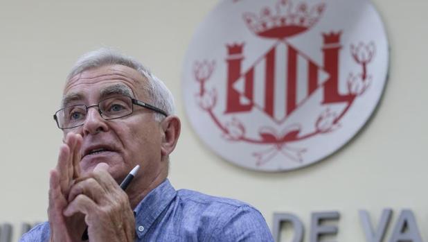El alcalde de Valencia, Joan Ribo