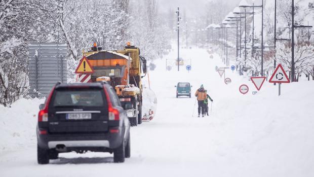 El temporal de frío y nieve está afectando a buena parte de la Península