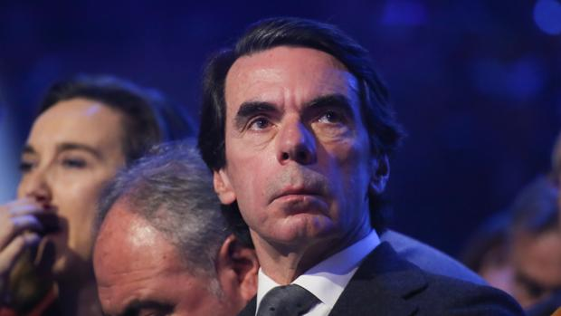 José María Aznar, expresidente del Gobierno