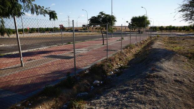 Una de las parcelas de Los Berrocales que será urbanizada