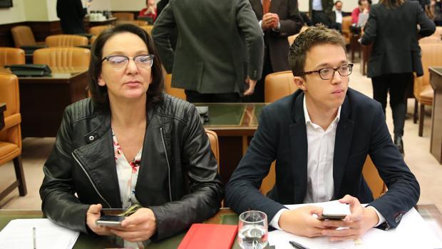 Carolina Bescansa e Íñigo Errejón, en una imagen de archivo