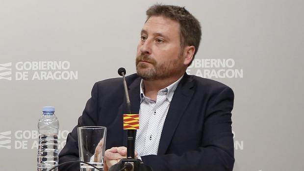 José Luis Soro (CHA), consejero de Vertebración Territorial del Gobierno aragonés
