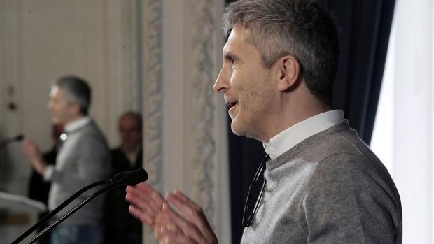 El ministro Fernando Grande-Marlaska