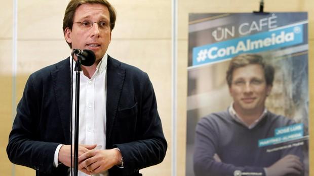 José Luis Martínez-Almeida, en la presentación de la campaña