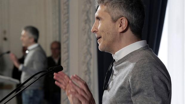 El ministro del Interior, esta semana en una cato en San Sebastián