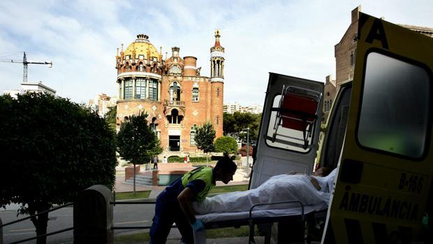 Hospital de Sant Pau de Barcelona, en el que se realizó la intervención