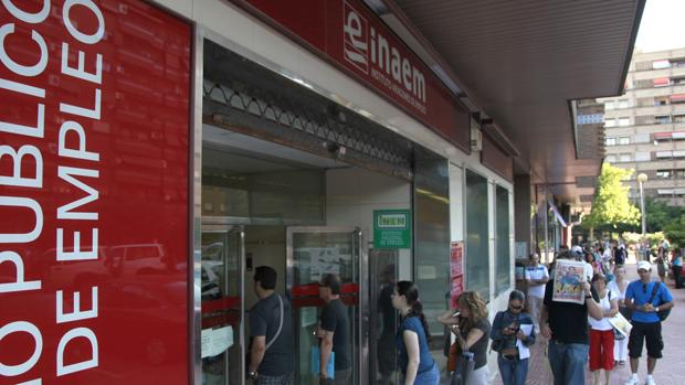 Aragón acabó enero con 69.059 inscritos en sus oficinas de Empleo
