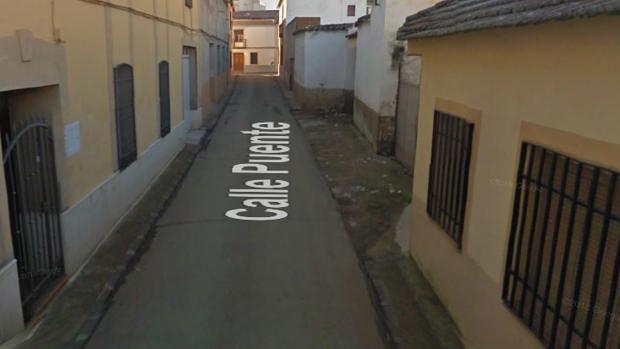 Calle donde ha ocurrido el accidente