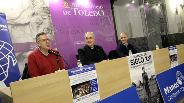 Antonio Juanes Cuartero, Francisco-César García Magán y Juan José Montero