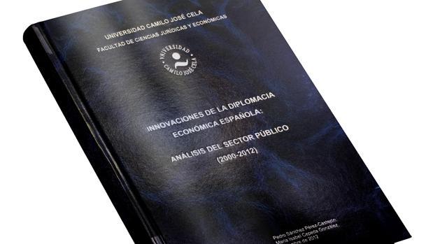 La tesis de Pedro Sánchez, «Innovaciones de la diplomacia económica española»