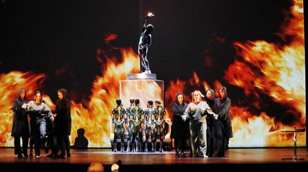 Ensayo general de este miércoles en el Teatro Calderón de Valladolid