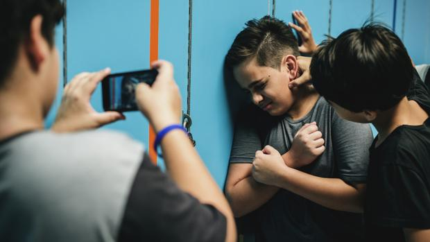 Una escena de maltrato escolar, en una imagen de archivo