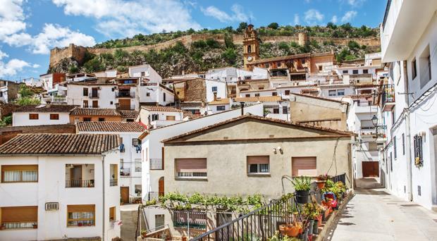 Panorámica de la localidad valenciana de Chulilla