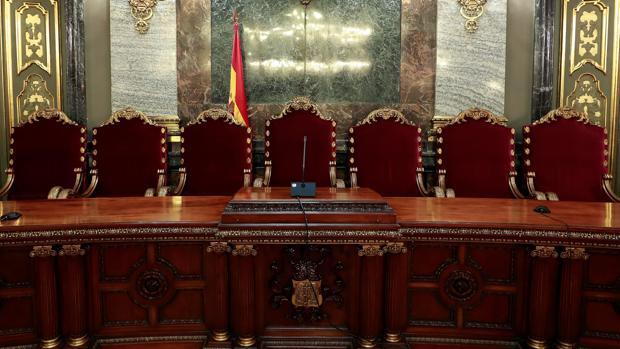 La presidencia de la Sala Penal del Tribunal Supremo en la que tendrá lugar el juicio del procés, el 12 de febrero