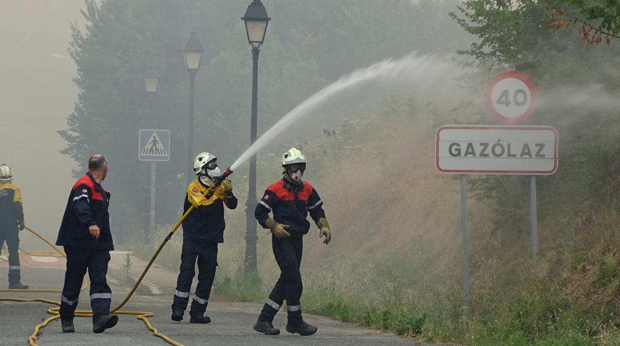 Los bomberos navarros podrán prejubilarse a los 55 años de edad