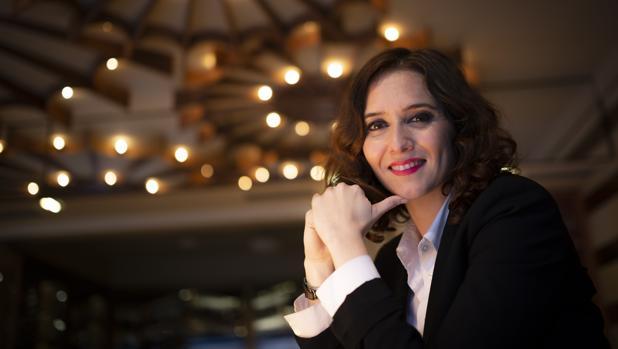 La candidata del PP a presidir la Comunidad de Madrid, Isabel Díaz Ayuso