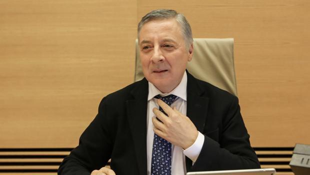 José Blanco, exministro de Fomento, durante la Comisión de Investigación