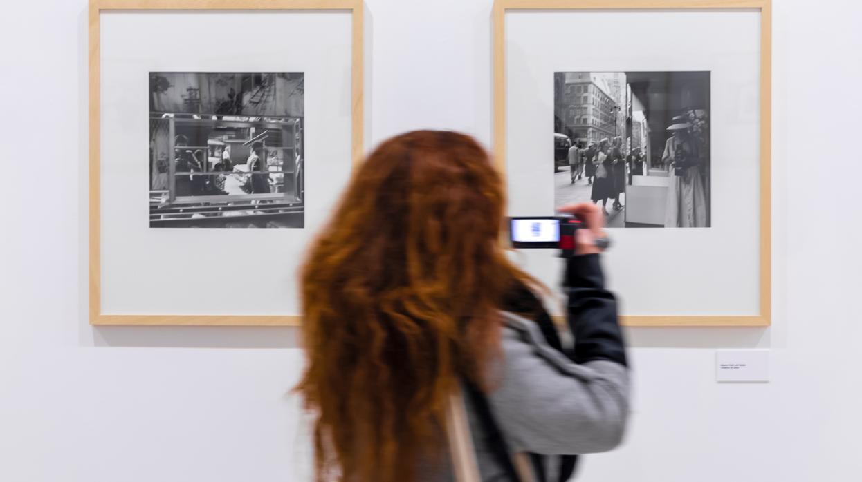 Los autorretratos de Vivian Maier, de Nueva York a Valladolid