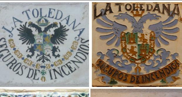 Azulejos de La Toledana en distintos lugares