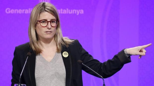 La portavoz de la Generalitat, Elsa Artadi