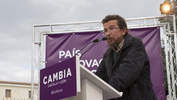 El padre de Pablo Iglesias, Francisco Javier Iglesias Peláez