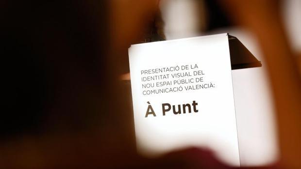 Imagen idenficativa de la televisión valenciana À Punt